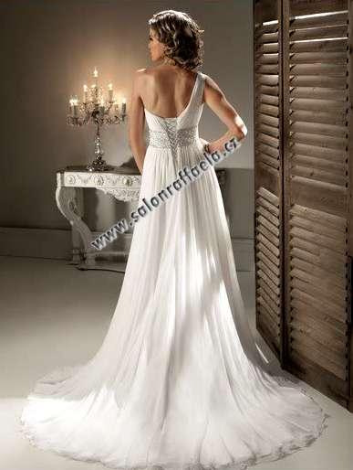 Kompletní specifikace · Související zboží. Antické svatební šaty na jedno  rameno ... 24fa4598a6